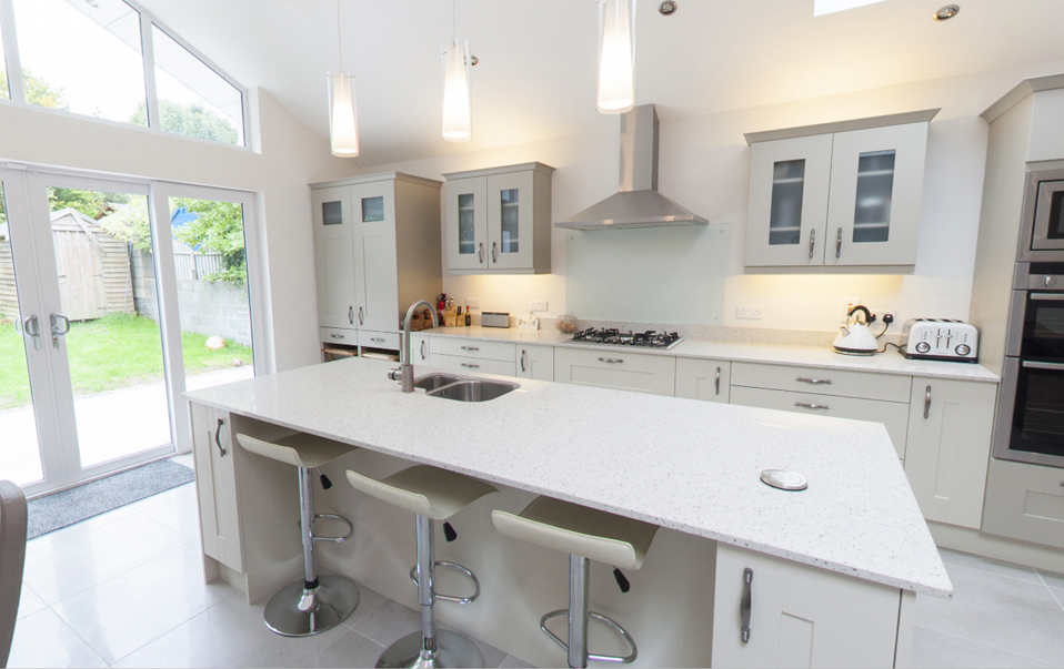 Virtual tours of our extensions and renovation projects for Kitchen ideas 3 bed semi