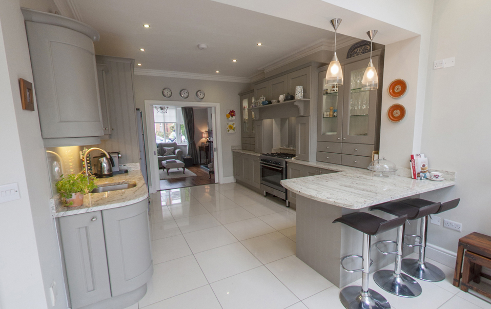 Virtual tours of our extensions and renovation projects for Terrace kitchen extension